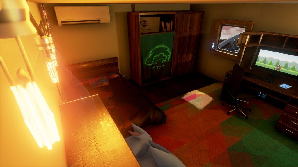 La chambre du joueur